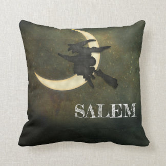 Coussin Vol de sorcière de Massachusetts de Salem sur le