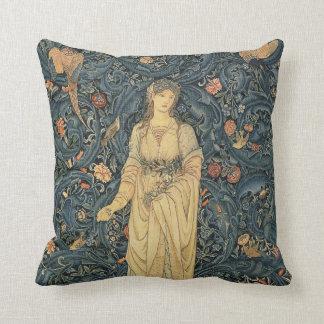 Coussin William Morris antique Flora
