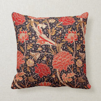 "Coussin William Morris ""Cray"" floral"