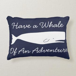 Coussins Décoratifs Aventure nautique et ancres de baleine