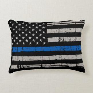 Coussins Décoratifs Blue Line mince - policier - police