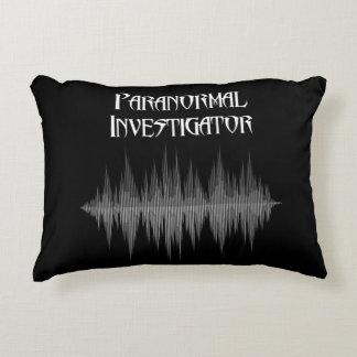 Coussins Décoratifs Carreau paranormal de Soundwave d'investigateur