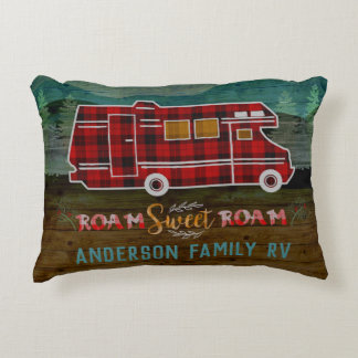 Coussins Décoratifs Motorhome rv Camper Travel Van Rustic Personalized