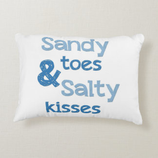 Coussins Décoratifs Orteils de Sandy et baisers salés