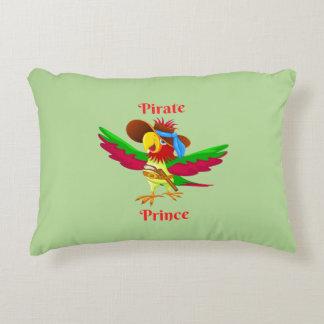 Coussins Décoratifs Polyester Pillow de pirate de perroquet de prince