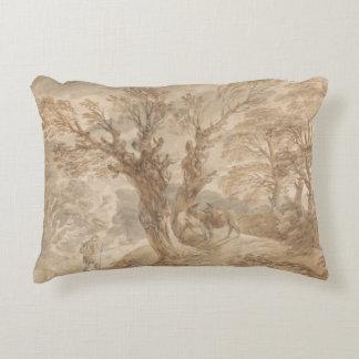 Coussins Décoratifs Thomas Gainsborough - paysage boisé avec le paysan