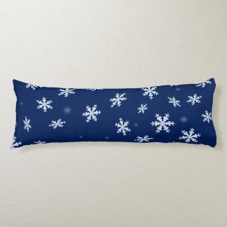 Coussins Longs Flocons de neige