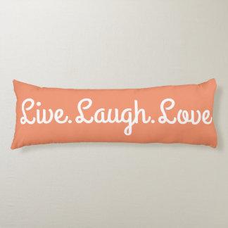 Coussins Longs Live.Laugh.Love