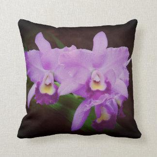 Coussins personnalisés par obsession d'orchidées