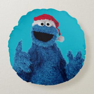 Coussins Ronds Biscuit de casquette de Père Noël