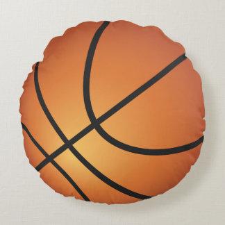 Coussins Ronds Boule fraîche de panier de basket-ball