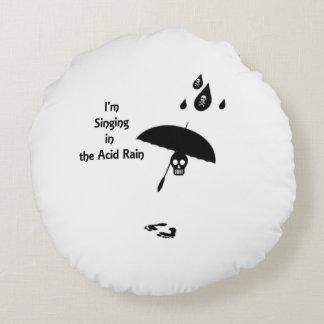 Coussins Ronds Chant sous les pluies acides
