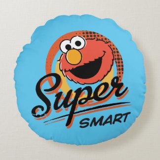 Coussins Ronds Comique futé superbe d'Elmo