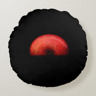 Coussins Ronds Demi de portrait d'Apple - ainsi cool