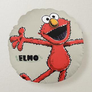 Coussins Ronds Elmo vintage