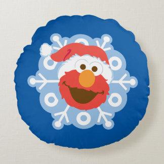 Coussins Ronds Flocon de neige d'Elmo