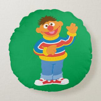 Coussins Ronds Graphique d'Ernie