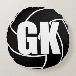 Coussins Ronds Joueurs de net-ball - gardien de but - GK