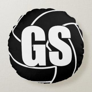 Coussins Ronds Joueurs de net-ball - pousse de but - GS