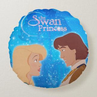 Coussins Ronds La princesse Pillow de cygne - ODETTE et Derek