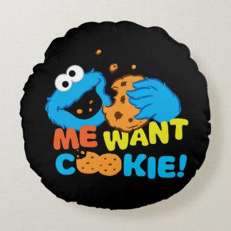 Coussins Ronds Le biscuit veut le biscuit