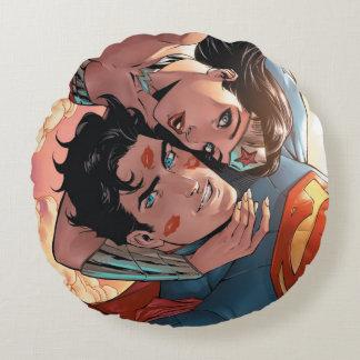 Coussins Ronds Superman/variante comique de la couverture #11