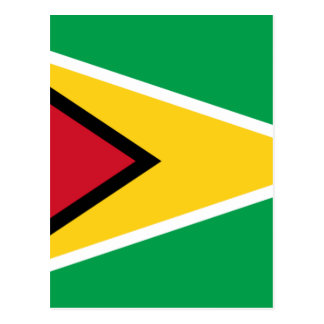 Coût bas ! Drapeau de la Guyane Carte Postale