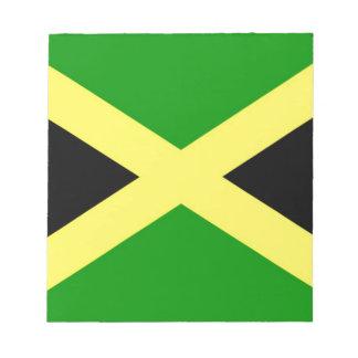 Coût bas ! Drapeau de la Jamaïque Bloc-note