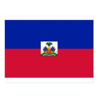 Coût bas ! Drapeau du Haïti Carte Postale