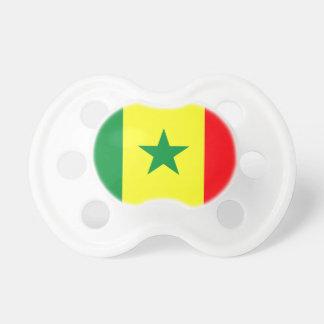 Coût bas ! Drapeau du Sénégal Tétine