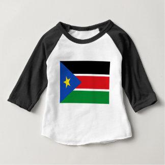 Coût bas ! Drapeau du sud du Soudan T-shirt Pour Bébé