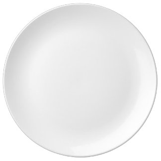 """Coutume 10,75"""" plat décoratif de porcelaine assiette en porcelaine"""