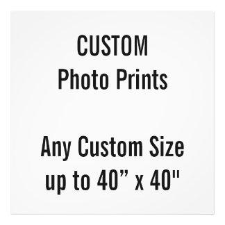 """Coutume 40"""" x 40"""" copie de photo (ou toute taille"""