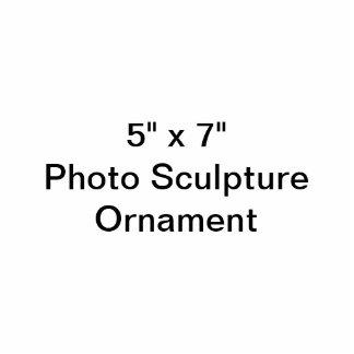"""Coutume 5"""" x 7"""" ornement de sculpture en photo ornement photo sculpture"""