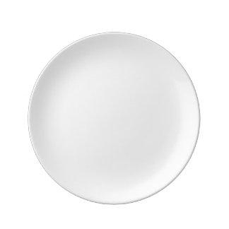 """Coutume 8,5"""" plat décoratif de porcelaine assiette en porcelaine"""