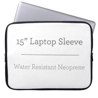 Coutume douille d'ordinateur portable de 15 pouces protection pour ordinateur portable