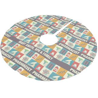 Coutume du pictogramme   de profession de jupon de sapin en polyester brossé