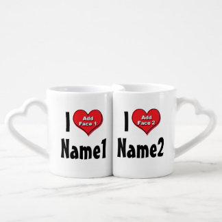 Coutume nous sommes dans l'amour mug