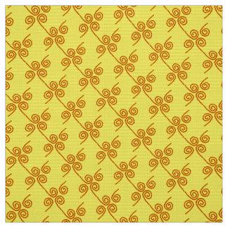 """Coutume rouge de """"cordes"""" de jaune de tissu de"""