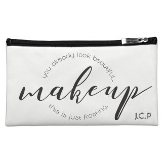 Coutume, simple • Maquillage, manuscrit, Trousses À Maquillage