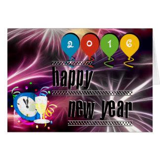 Coutume votre carte de bonne année