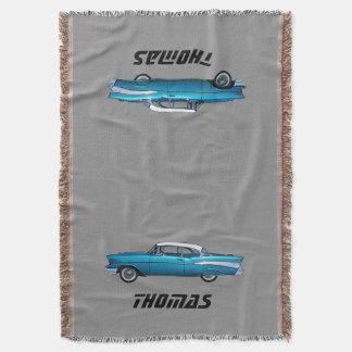 Couverture 1957 classique de coutume de Chevy