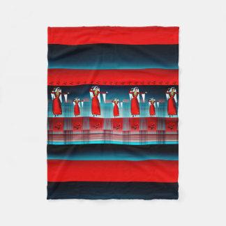 Couverture arménienne d'ouatine de danseur, petite