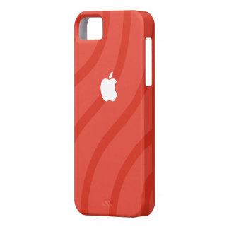 Couverture arrière d'iphone rouge de motif coque Case-Mate iPhone 5