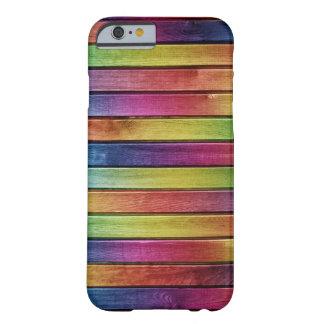 Couverture bois de couleurs coque barely there iPhone 6