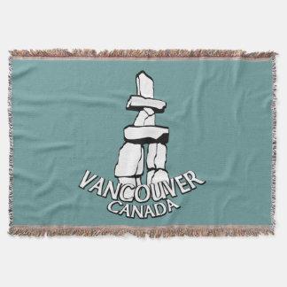 Couverture Cadeau couvrant de souvenir de Vancouver Vancouver
