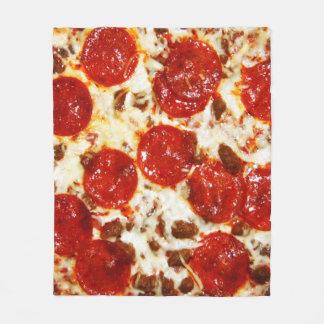Couverture chaude de Meme de pizza