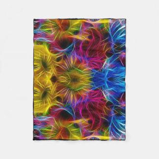 couverture colorée unique d'ouatine