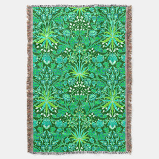 Couverture Copie de jacinthe de William Morris, vert vert