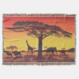 Couverture Coucher du soleil en Afrique